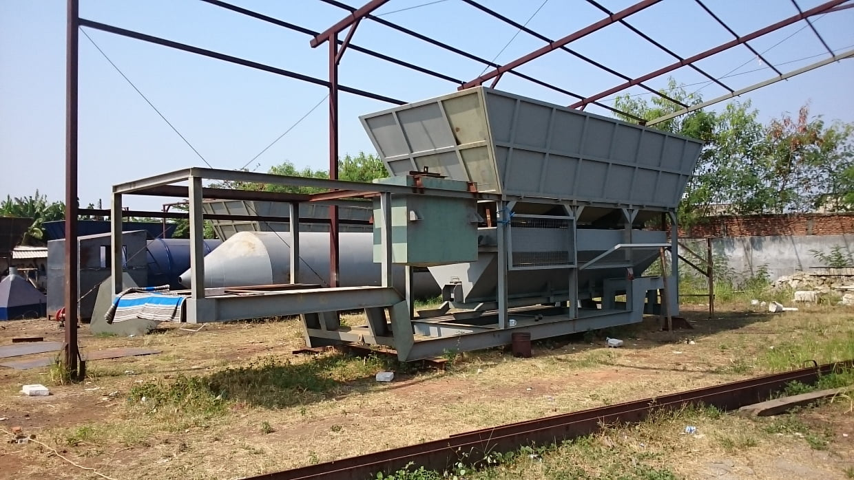 Batching plant dry mix